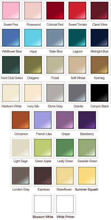 image result  rustoleum chalked paint color chart