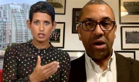 Naga Munchetty cuts off James Cleverly as he take huge ...