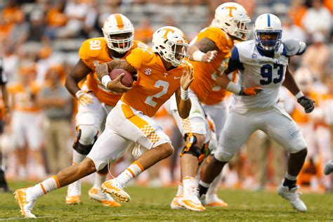 tennessee football  bold predictions  vols remaining