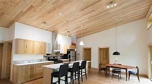 Plancher Pin Pas Cher : plafonds choisir entre une finition de gypse et de bois nouvelle cohabitation ~ Melissatoandfro.com Idées de Décoration