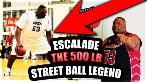 lbs street ball legend  fattest player