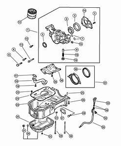 Chrysler Sebring Bolt  Hex Flange Head  Engine  Oiling