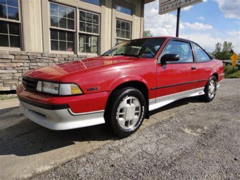 Find Used 1989 Chevrolet Cavalier Z24 Coupe 2door 28l In
