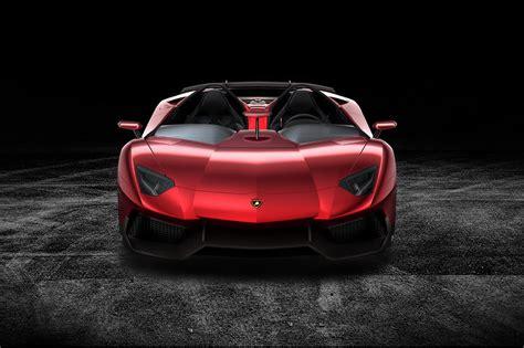 Lamborghini Aventador J Convertible Pictures And Details