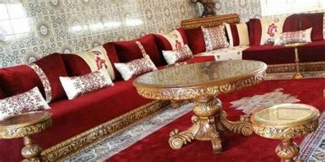 canapé ancien velours le style marocain de salon traditionnel deco salon marocain