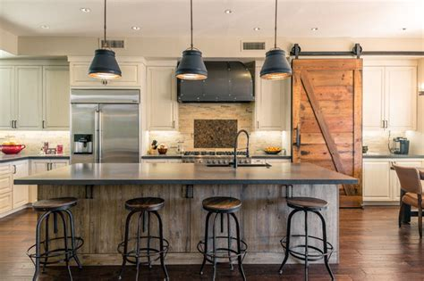 gilbert industrial farmhouse kitchen and room