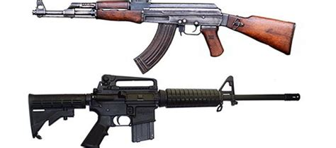 the ak 47 vs ar 15 which rifle is better when shtf ask
