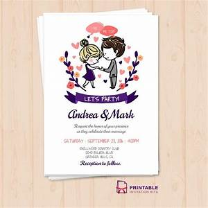 218 best wedding invitation templates free images on With wedding invitations sample pdf