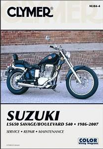 Suzuki Ls650 Savage  U0026 Boulevard 1986 - 2007 Clymer Owners Service  U0026 Repair Manual