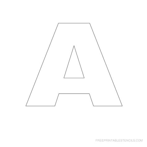 free letter stencils printable stencil letters best large letter stencils ideas 22179