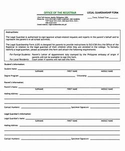 legal guardianship form 7 download documents in pdf word With free legal documents online