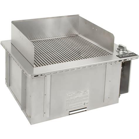 indoor gas grill profire 30 inch indoor propane gas grill pfindoor lp bbq guys