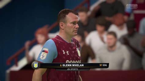 Fifa 18 Aston Villa Vs Fulham - YouTube