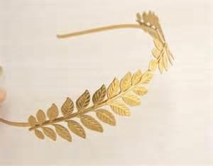 kleid brautjungfer leaf headband bridal hair grecian headband goddess crown gold headband gold
