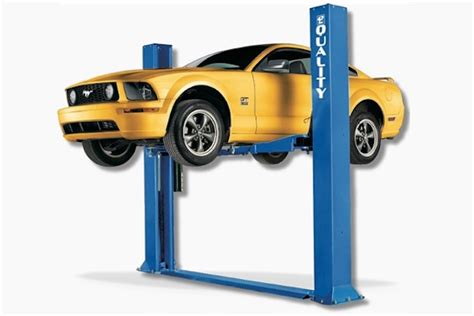 The Four Different Home Car Lift Types