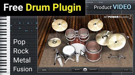 mt power drum kit  au  vst drum plugin