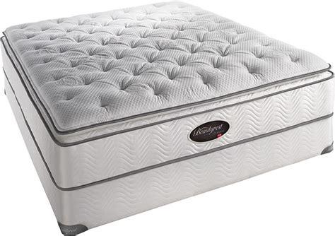 simmons beautyrest latex super pillow top plush  firm mattress
