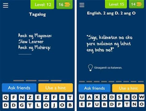 Tagalog Logic Questions And Answers Resume by Ulol Android App Questions And Answers From Level 1 To 20 Howtoquick Net