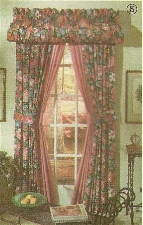 simplicity sewing pattern 7727 home decor curtains drapes