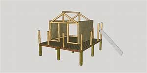 Plan De Cabane En Bois : plan cabane enfant par apprenti sur l 39 air du bois ~ Melissatoandfro.com Idées de Décoration