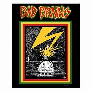 Bad Brains Capitol Sticker