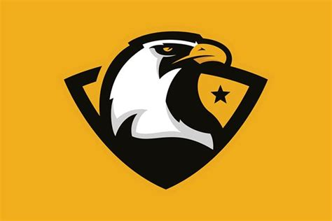 eagles logo mark  sale  behance sports logo bird