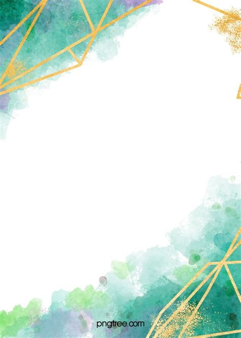 watercolor rendering gold  border blue background