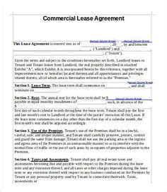 sample month  month rental agreement forms sample