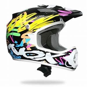 Casque De Moto : casque moto cross enfant nox n724 flashy achat vente casque moto scooter casque moto cross ~ Medecine-chirurgie-esthetiques.com Avis de Voitures