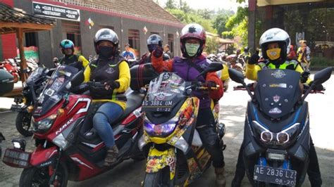 Nmax 2018 Mojokerto by Gathnas Ketiga Yamaha Nmax Club Indonesia Dikemas Beda