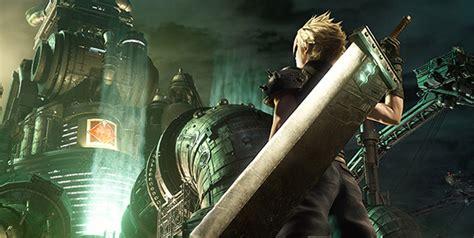 final fantasy vii remake  key visual remakes original