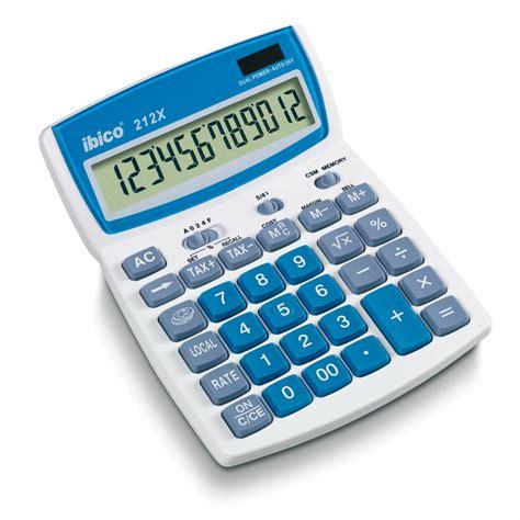 calculatrice de bureau ibico 212x calculatrice ibico sur ldlc com
