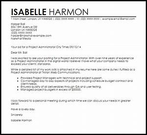 cover letter for healthcare administration position - cover letter for contract administrator position