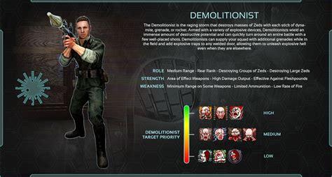 killing floor 2 demolitionist overview