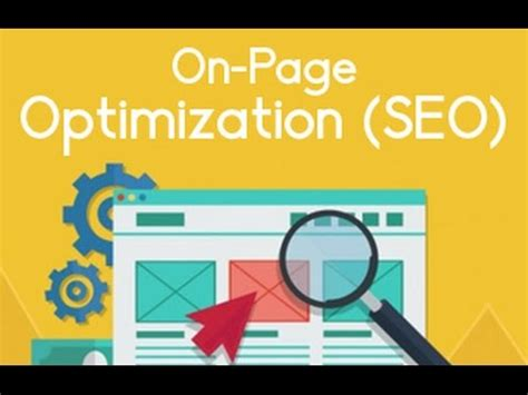 Web Page Optimisation by On Page Optimization On Page Seo Website Analysis