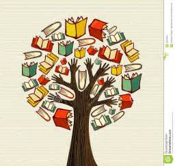 concept design books tree royalty free stock photo image 32018645