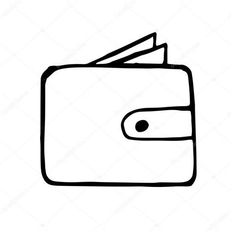 Kleurplaat Portemonnee by Portemonnee Doodle Tekening Stockvector 169 Dimgroshev