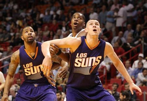 Hassan Whiteside Tussles With Alex Len