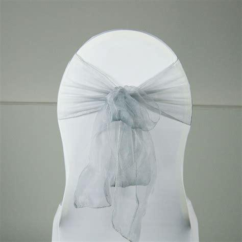 noeud de chaise organza location noeud organza diff 233 rents coloris pour housse de chaise sur lyon