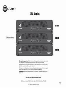 Xls Series Operation Manual 133465 6 Original