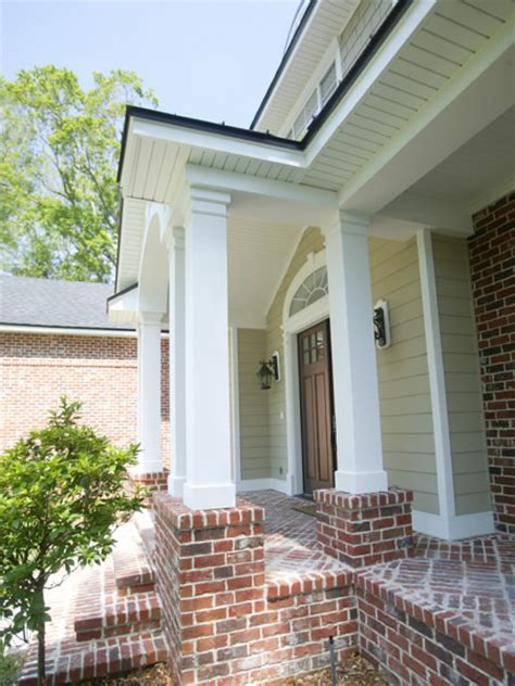 porch design ideas using column and post wraps