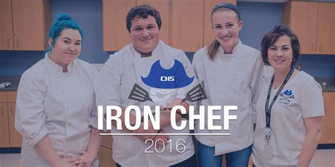annual chs iron chef greater clark county schools