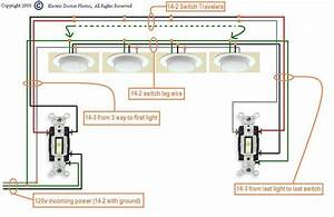 Diagram For Wiring 4 Fluorescent Lights Between Two 3way Wiring Diagram