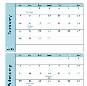 12 month planner template - 2018 monthly calendar printable 12 month templates web