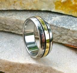 mens gold and silver wedding bands wedding rings collection for a wedding inspiration