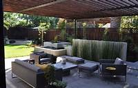 best modern patio design ideas Modern Patio Concrete With Redwood And Steel Arbor, how to clean concrete patio, decorative ...