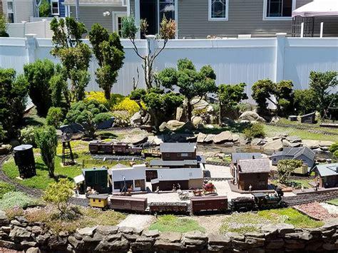 garden railway model displays at clark garden in may