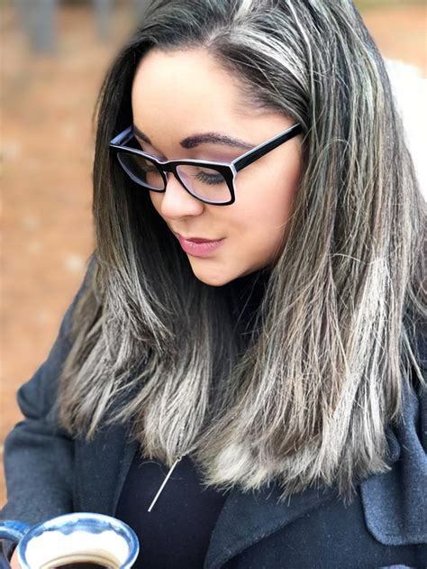 The 25 Best Black And Silver Hair Ideas On Pinterest