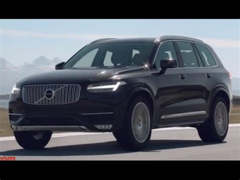 New Volvo Xc 90 2015 First Video Review Commercial Carjam