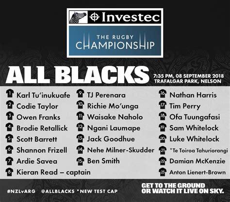 blacks  twitter team naming    allblacks     argentina